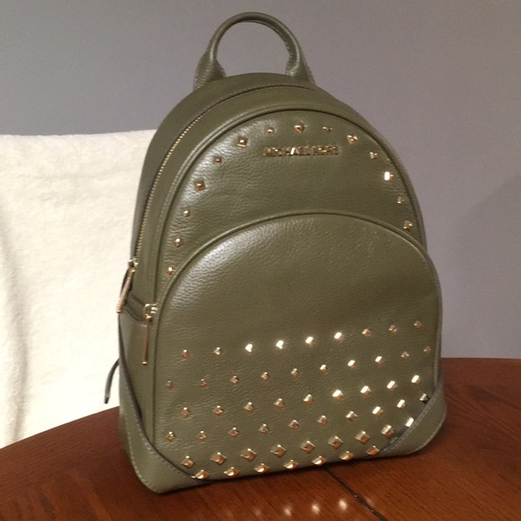 b5fc86c2e3a5 Michael Kors Abbey Studded Backpack-
